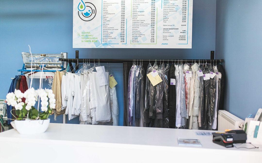 Czy pralnia chemiczna może być Eco?