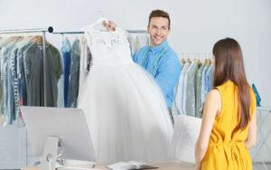 Czyszczenie sukni ślubnej